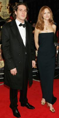 Mark Umbers and Anne Louise Plowman at the world gala premiere of