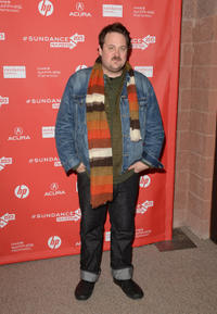 Noah Harpster at the premiere of