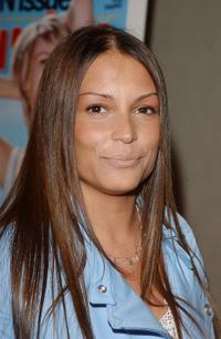Angie Martinez at the Esquire Magazine party.
