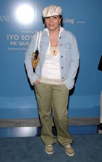 Angie Martinez at the Armani Casa during the 5th Annual Tribeca Film Festival.