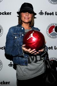 Angie Martinez at the 2010 Jordan Brand classic celebrity bowling event.