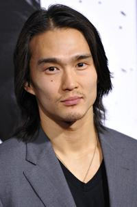 Karl Yune at the premiere of