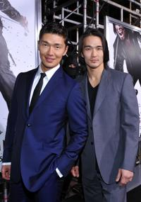 Rick Yune and Karl Yune at the premiere of