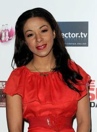 Kathryn Drysdale at the UK premiere of