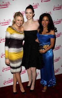 Antonia Bernath, Talulah Riley and Kathryn Drysdale at the world premiere of