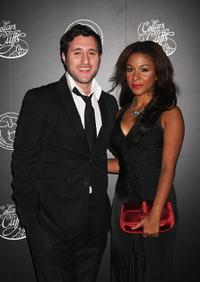 Antony Costa and Kathryn Drysdale at the Collars and Cuffs Ball.