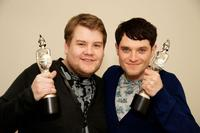 James Corden and Mathew Horne at the Brit Awards 2009.
