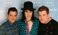 Mathew Horne, Noel Fielding and James Corden at the Teenage Cancer Trust 2009.
