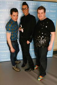 Mathew Horne, Gok Wan and James Corden at the Teenage Cancer Trust 2009.