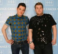 Mathew Horne and James Corden at the Teenage Cancer Trust 2009.