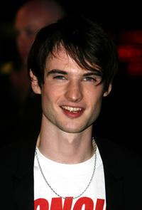 Tom Sturridge at the premiere of