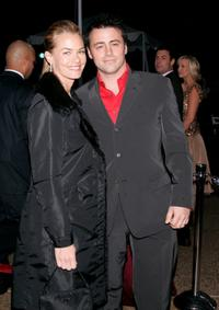 Melissa McKnight and Matt LeBlanc at the 31st Annual People's Choice Awards.