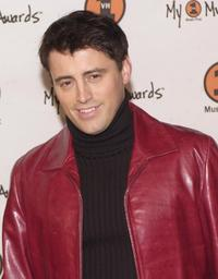 Matt LeBlanc at the My VH1 Music Awards.