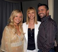 Malin Ackerman, Lisa Kudrow and Matt LeBlanc at the premiere of