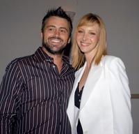Matt LeBlanc and Lisa Kudrow at the Hollywood premiere of