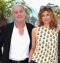 Bernard Le Coq and Florence Pernel at the photocall of
