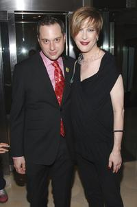 Kenny Mellman and Justin Bond at the after party of the Opening night of