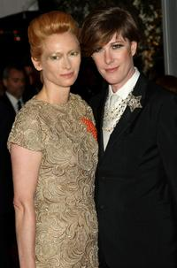Tilda Swinton and Justin Bond at the Metropolitan Museum of Art Costume Institute Gala.