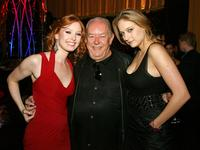 Alicia Witt, Robin Leach and Leelee Sobieski at the after party of the world premiere of