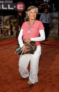 Cloris Leachman at the world premiere of