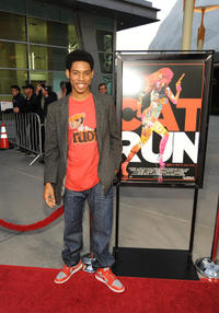 Alphonso McAuley at the California premiere of