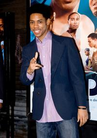 Alphonso McAuley at the special screening of
