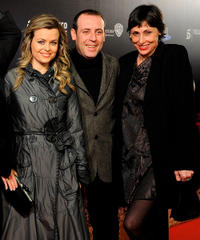 Carmen Arche, Antonio Molero and Maria Barranco at the Spain premiere of