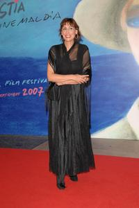 Maria Barranco at the premiere of