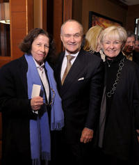 Fran Lebowitz, NYC Police Commissioner Ray Kelly and Veronica Kelly at the New York premiere of
