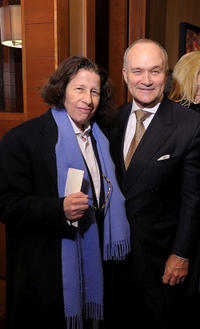 Fran Lebowitz and NYC Police Commissioner Ray Kelly at the New York premiere of