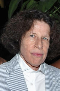 Fran Lebowitz at the Vuitton in New York.
