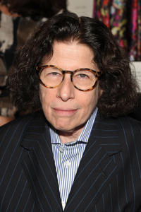 Fran Lebowitz at the Carolina Herrera Spring 2012 fashion show during the Mercedes-Benz Fashion Week in New York.