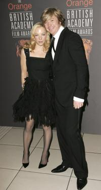 Natalie Press and Nicky Clarke at the Orange British Academy Film Awards (BAFTAs).
