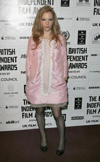 Natalie Press at the British Independent Film Awards.