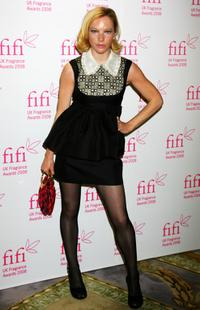 Natalie Press at the FiFi UK Fragrance Awards 2008.