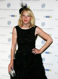 Natalie Press at the Raisa Gorbachev Foundation party.