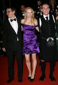 Natalie Press and Tony Curran at the premiere of