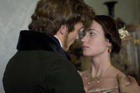 Rupert Friend as Prince Albert and Emily Blunt as Queen Victoria in
