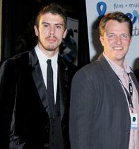 Toby Kebbell and Jonathan Wells at the west coast debut of