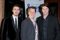 Toby Kebbell, Jonathan Wells and Orian Williams at the west coast debut of