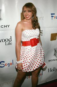 Jennifer Tisdale at the Monarchy Collection Fashion Show.