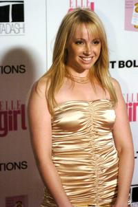 Jennifer Tisdale at the First Annual ELLEGIRL Hollywood Prom party.
