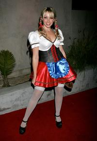 Jennifer Tisdale at the Halloween Mansion party hosted by Haylie Duff.