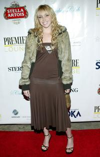 Jennifer Tisdale at the premiere lounge after party of