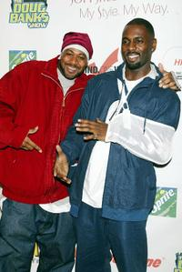 Ghostface Killah and Idris Elba at the 3rd Annual Doug Banks Jam Session.