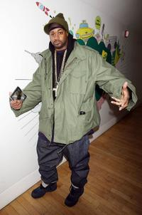 Ghostface Killah at the taping for MTV2's Sucker Free.