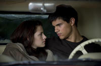 Kristen Stewart and Taylor Lautner in