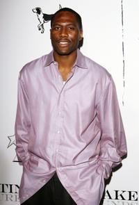 Elton Brand at the Justin Timberlake's CD release party for the Jive Records