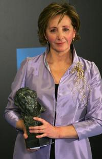 Mabel Rivera at the Ceremony for Spanish cinema.