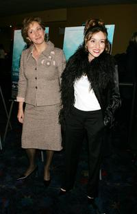 Mabel Rivera and Lola Duenas at the premiere of